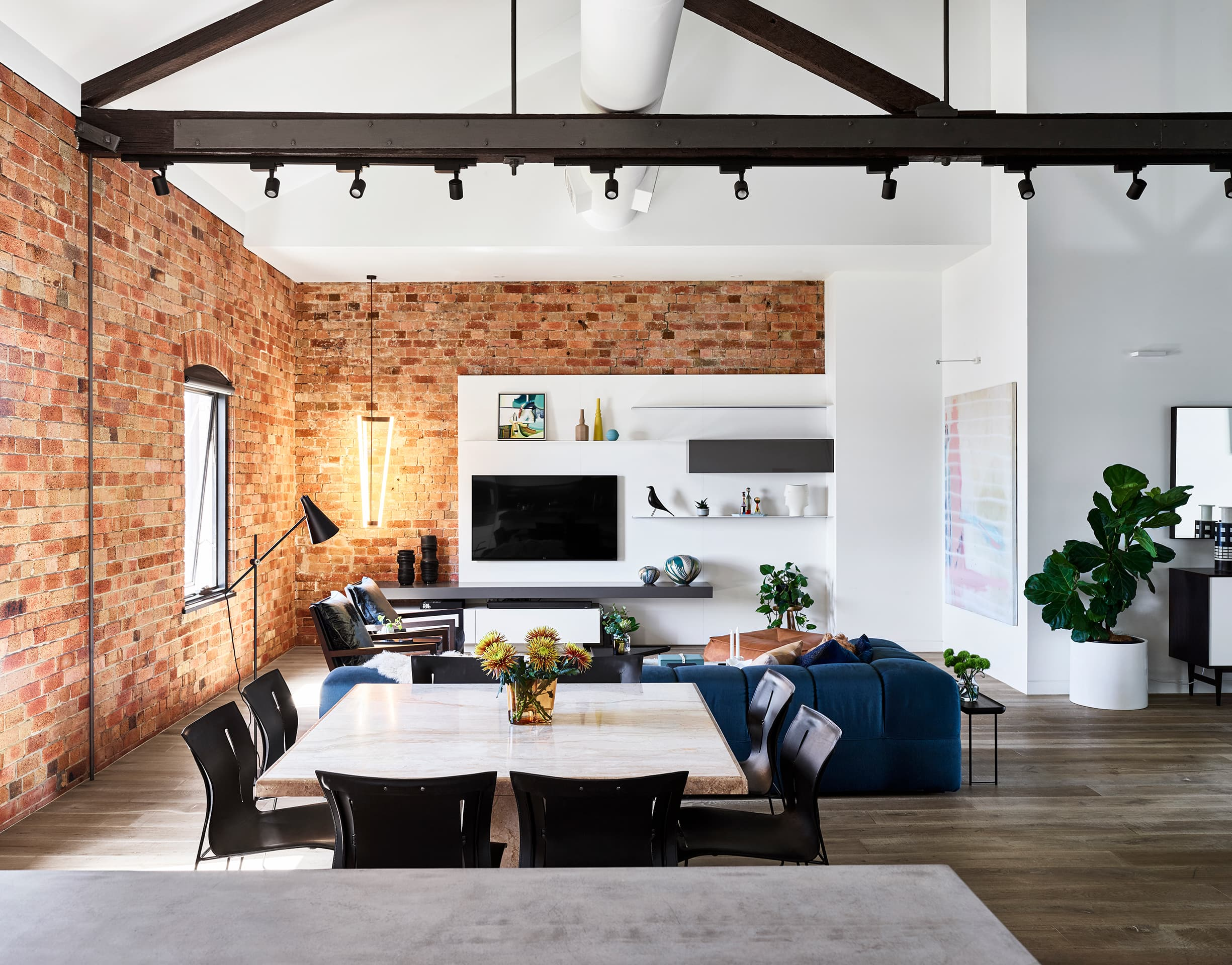 Interior Design Brisbane - The Refinery Penthouse